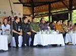 Minister of Marine Affair nad Fisheries - Mr. Sharif C.Sutardjo, Michaela Vláško ( Relax Bali resort) and other  representatives of Karangasem